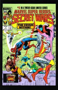 Cover Thumbnail for Hasbro / Secret Wars (Marvel, 2009 series) #3