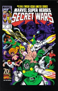 Cover Thumbnail for Hasbro / Secret Wars (Marvel, 2009 series) #6