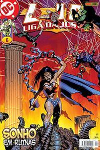 Cover for Liga da Justiça (Panini Brasil, 2002 series) #6