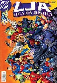 Cover Thumbnail for Liga da Justiça (Panini Brasil, 2002 series) #8
