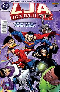 Cover Thumbnail for Liga da Justiça (Panini Brasil, 2002 series) #20