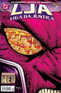 Cover Thumbnail for Liga da Justiça (Panini Brasil, 2002 series) #21