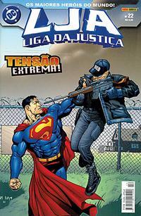 Cover Thumbnail for Liga da Justiça (Panini Brasil, 2002 series) #22