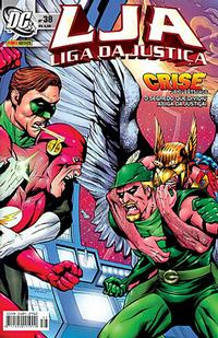 Cover Thumbnail for Liga da Justiça (Panini Brasil, 2002 series) #38