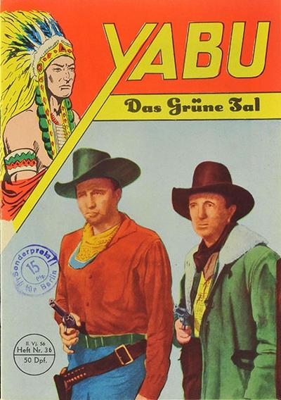 Cover for Yabu (Semrau, 1955 series) #36