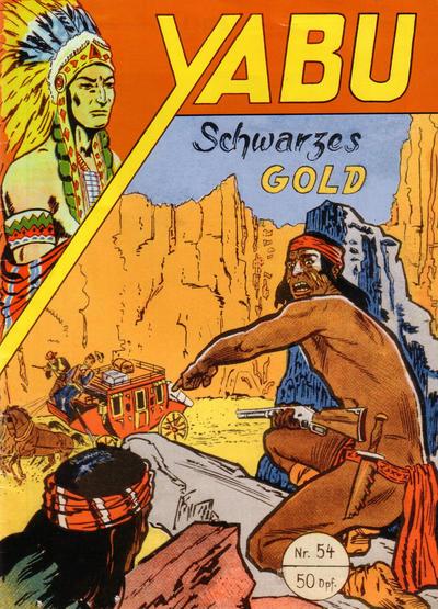 Cover for Yabu (Semrau, 1955 series) #54