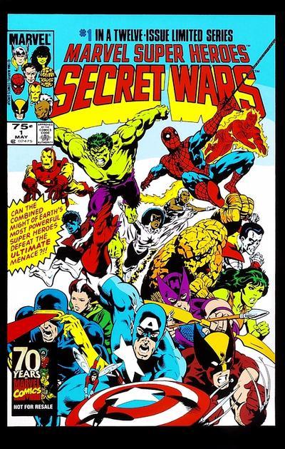 Cover for Hasbro / Secret Wars (Marvel, 2009 series) #1