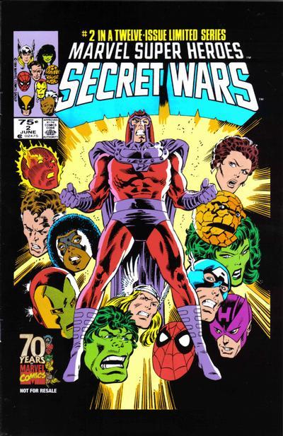 Cover for Hasbro / Secret Wars (Marvel, 2009 series) #2