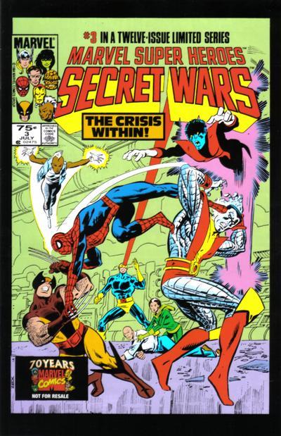 Cover for Hasbro / Secret Wars (Marvel, 2009 series) #3