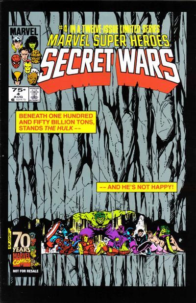 Cover for Hasbro / Secret Wars (Marvel, 2009 series) #4