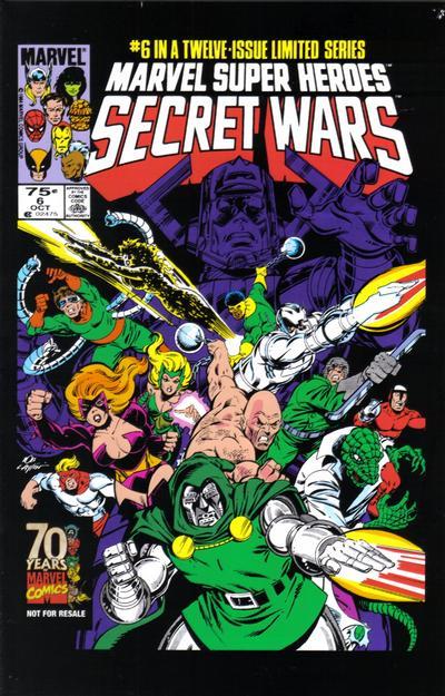 Cover for Hasbro / Secret Wars (Marvel, 2009 series) #6