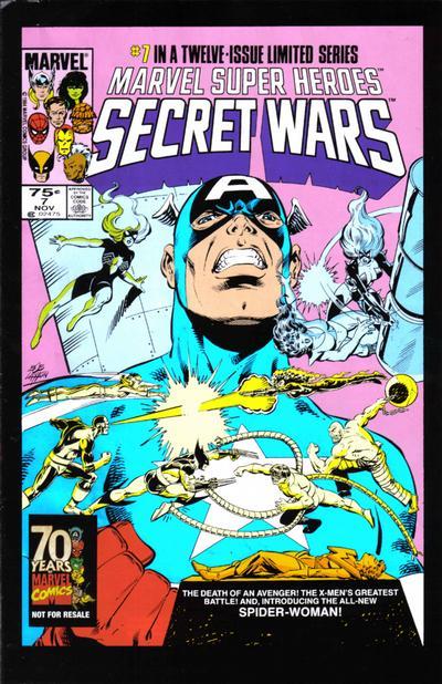 Cover for Hasbro / Secret Wars (Marvel, 2009 series) #7