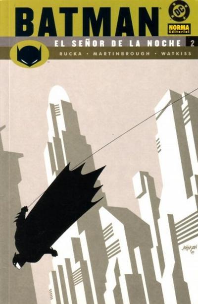 Cover for Batman: El señor de la noche (NORMA Editorial, 2003 series) #2