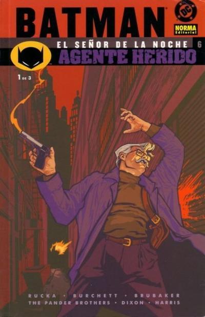 Cover for Batman: El señor de la noche (NORMA Editorial, 2003 series) #6