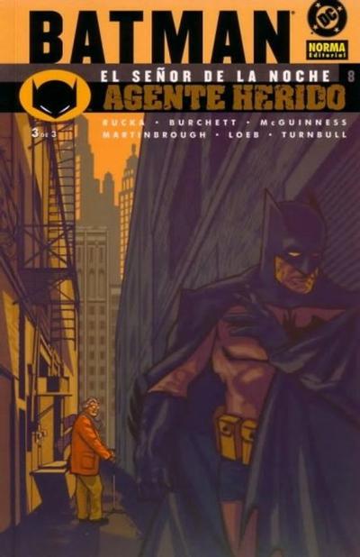 Cover for Batman: El señor de la noche (NORMA Editorial, 2003 series) #8