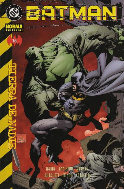 Cover for Batman (NORMA Editorial, 2000 series) #16