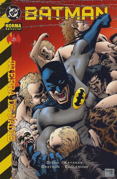 Cover for Batman (NORMA Editorial, 2000 series) #21