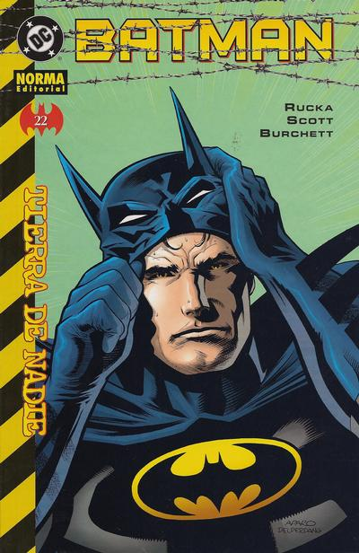 Cover for Batman (NORMA Editorial, 2000 series) #22