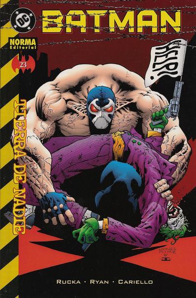 Cover for Batman (NORMA Editorial, 2000 series) #23