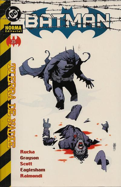 Cover for Batman (NORMA Editorial, 2000 series) #25