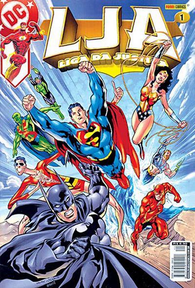 Cover for Liga da Justiça (Panini Brasil, 2002 series) #1