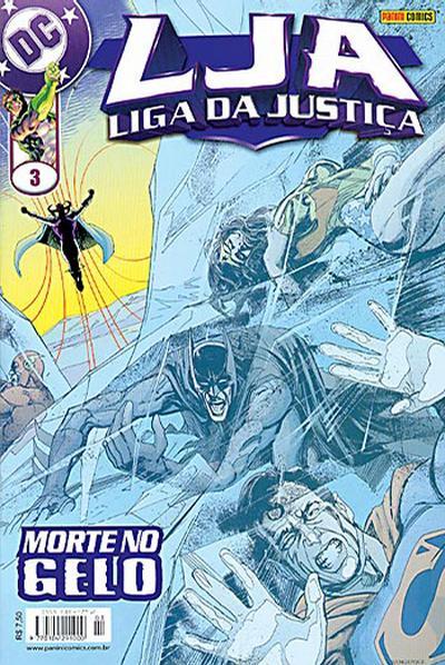 Cover for Liga da Justiça (Panini Brasil, 2002 series) #3