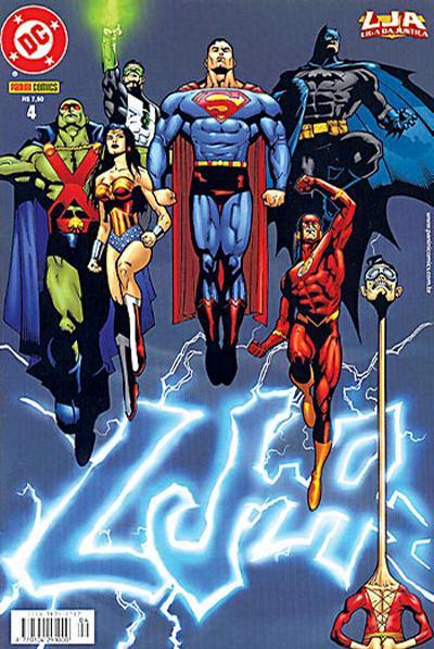 Cover for Liga da Justiça (Panini Brasil, 2002 series) #4