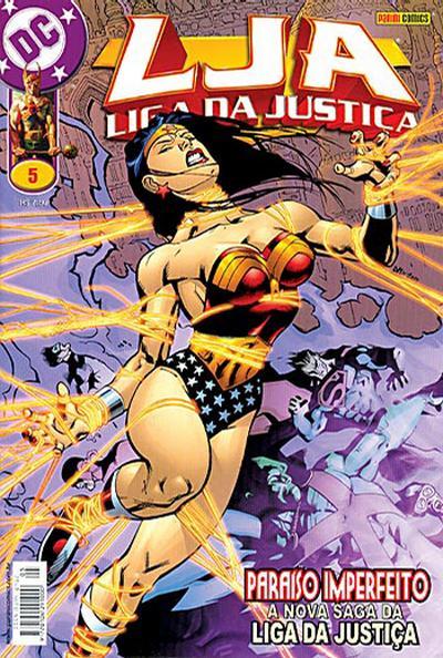 Cover for Liga da Justiça (Panini Brasil, 2002 series) #5