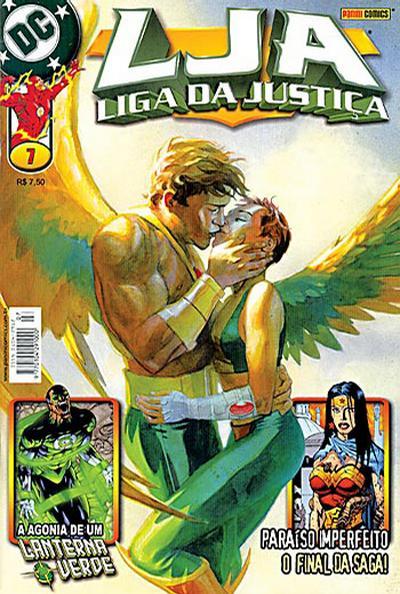 Cover for Liga da Justiça (Panini Brasil, 2002 series) #7