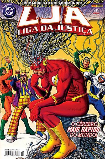 Cover for Liga da Justiça (Panini Brasil, 2002 series) #11