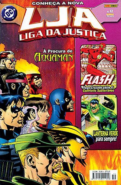 Cover for Liga da Justiça (Panini Brasil, 2002 series) #12