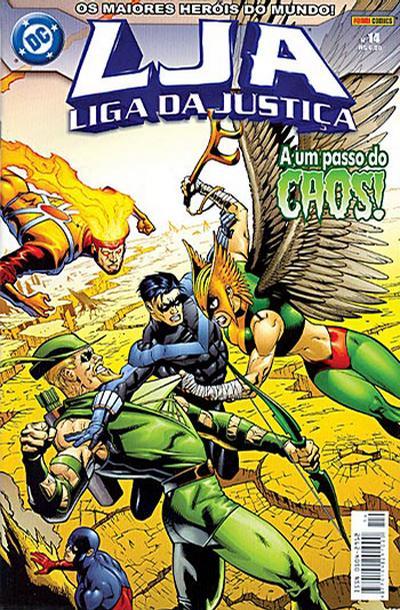 Cover for Liga da Justiça (Panini Brasil, 2002 series) #14