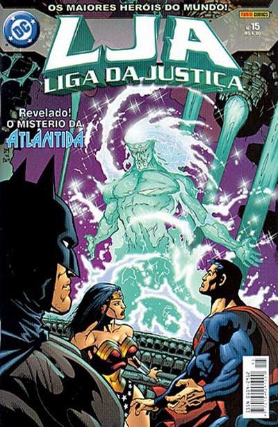 Cover for Liga da Justiça (Panini Brasil, 2002 series) #15
