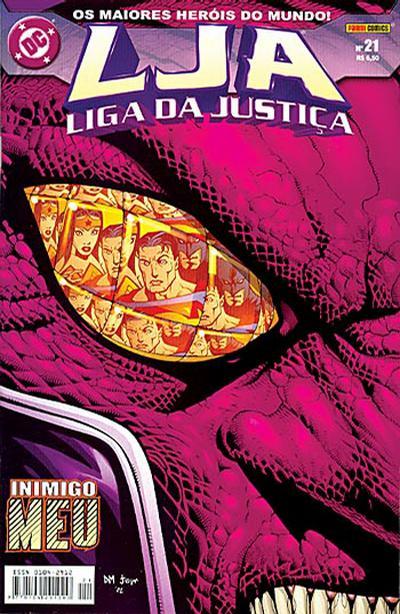 Cover for Liga da Justiça (Panini Brasil, 2002 series) #21