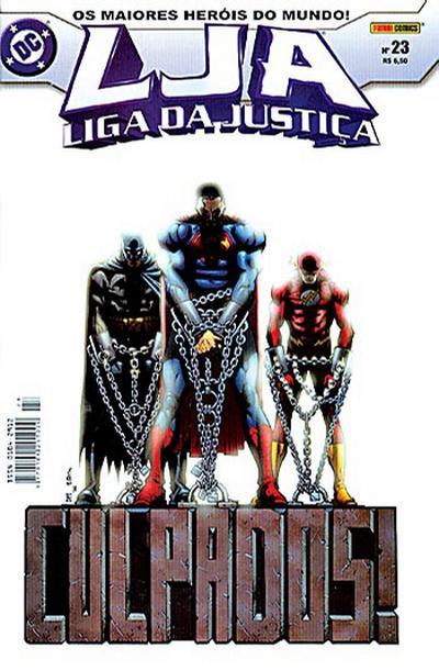 Cover for Liga da Justiça (Panini Brasil, 2002 series) #23