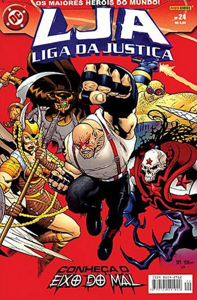 Cover for Liga da Justiça (Panini Brasil, 2002 series) #24