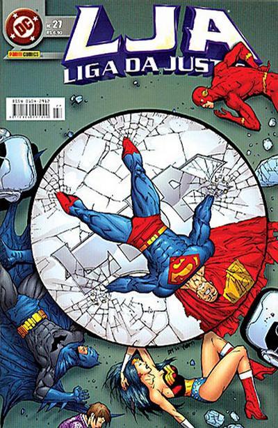 Cover for Liga da Justiça (Panini Brasil, 2002 series) #27