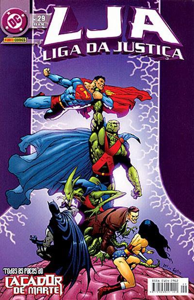 Cover for Liga da Justiça (Panini Brasil, 2002 series) #29