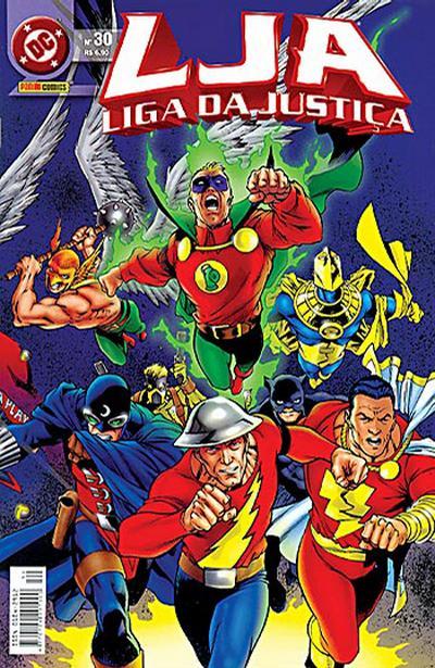 Cover for Liga da Justiça (Panini Brasil, 2002 series) #30