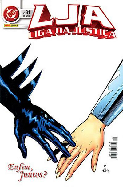 Cover for Liga da Justiça (Panini Brasil, 2002 series) #31