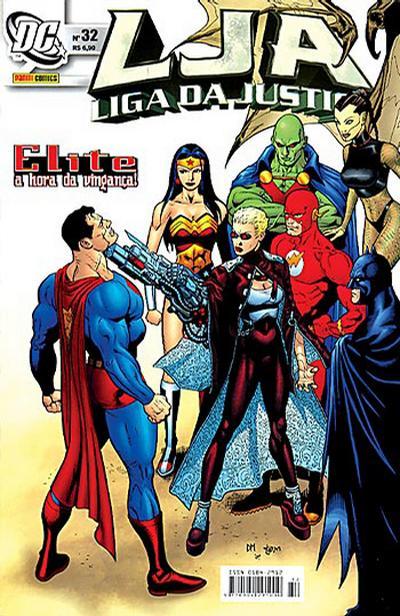 Cover for Liga da Justiça (Panini Brasil, 2002 series) #32
