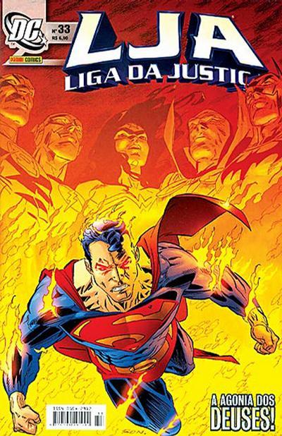 Cover for Liga da Justiça (Panini Brasil, 2002 series) #33