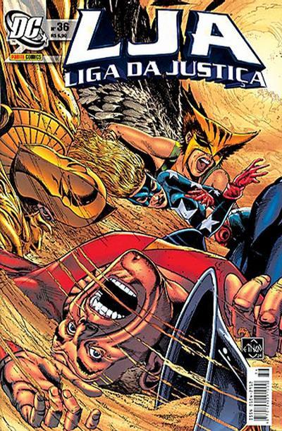 Cover for Liga da Justiça (Panini Brasil, 2002 series) #36