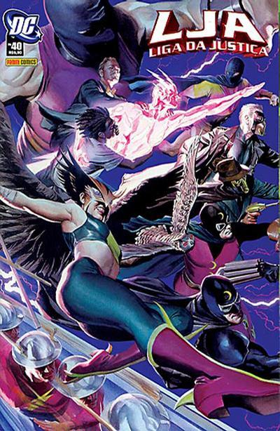 Cover for Liga da Justiça (Panini Brasil, 2002 series) #40