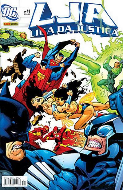 Cover for Liga da Justiça (Panini Brasil, 2002 series) #41