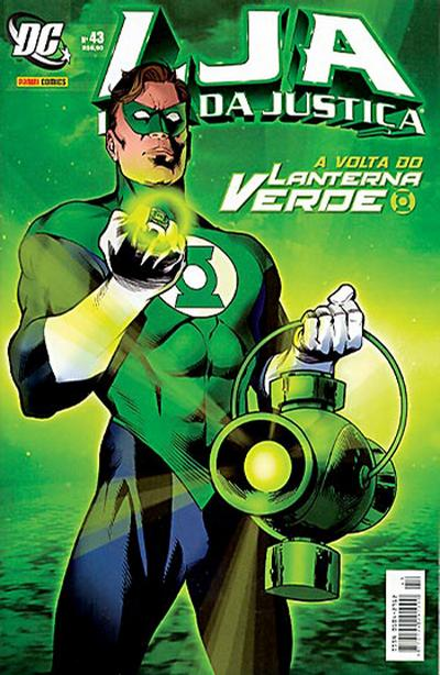 Cover for Liga da Justiça (Panini Brasil, 2002 series) #43