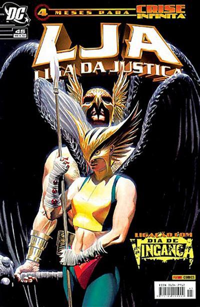 Cover for Liga da Justiça (Panini Brasil, 2002 series) #45