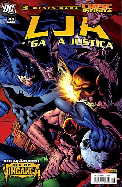 Cover for Liga da Justiça (Panini Brasil, 2002 series) #46