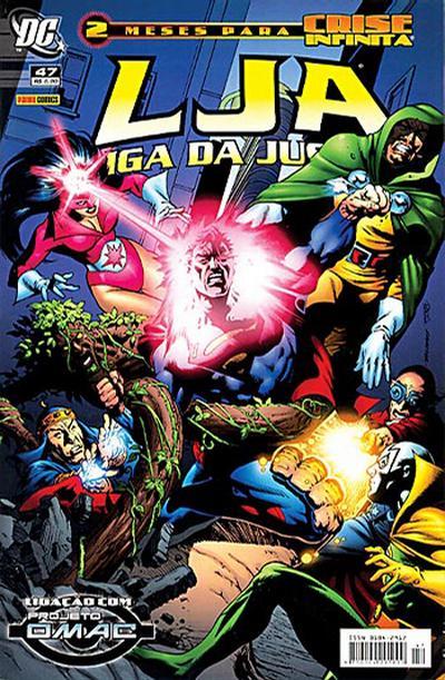 Cover for Liga da Justiça (Panini Brasil, 2002 series) #47