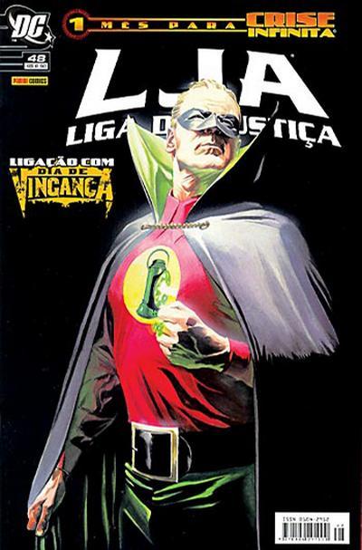 Cover for Liga da Justiça (Panini Brasil, 2002 series) #48
